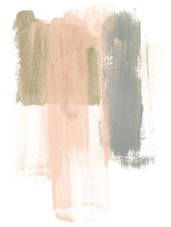 Blush Abstract IV