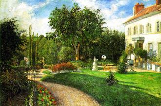 The Garden of Les Mathurins at Pontoise, 1876