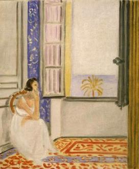 A Woman by Window, 1920-1922