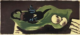 Teapot and Apples, 1946