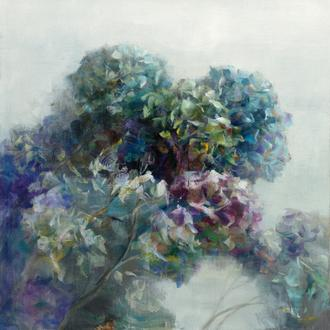 Abstract Hydrangea