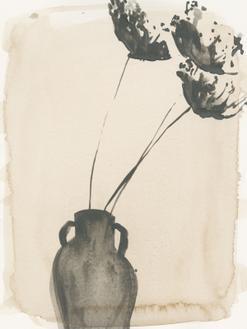 Grey Garden Vase I