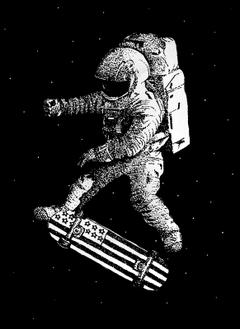 Kickflip in Space
