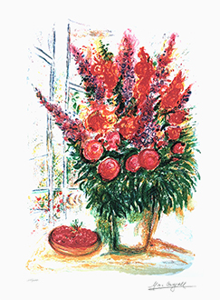 Bouquet with Bowl of Cherries (200 Editions)