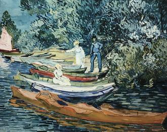 Bank of the Oise at Auvers, 1890 (오베르 우아즈 강둑)