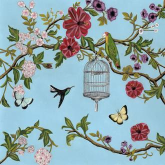 Bird Song Chinoiserie I