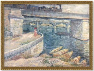 The Bridge at Asnieres, 1887