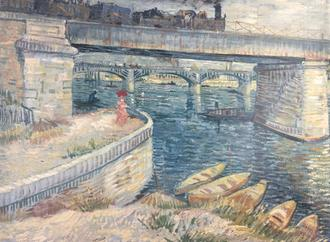 The Bridge at Asnieres, 1887