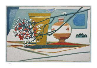 매화 꽃이 있는 정원 (199 Editions)