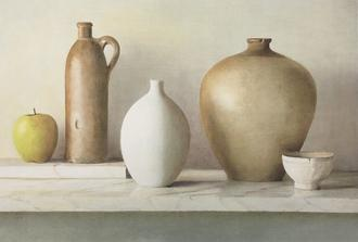 Still Life with Vases I