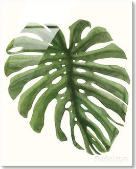 Tropical Breeze Leaves I