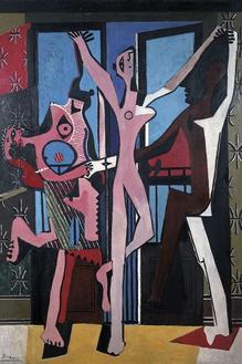 The Three Dancers, 1925