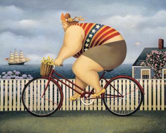 Mary's New Bike