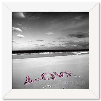 Love on Pink Sand