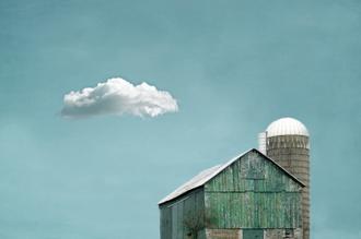 Green Barn and Cloud