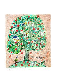 제주생활의 중도 (150 Editions) House tree