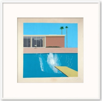 A Bigger Splash, 1967 (더 큰 첨벙)