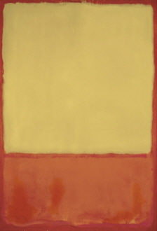 The Ochre (Ochre, Red on Red), 1954