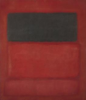 Black over Reds (Black on Red), 1957