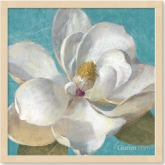 Turquoise Bloom II