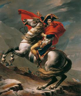 Napoleon Crossing the Alps (알프스 산맥을 넘는 나폴레옹)