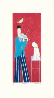 Man with Violin (150 Editions)