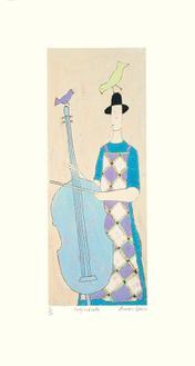 Lady & Cello (150 Editions)
