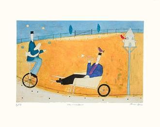 Man in Wheelbarrow (175 Editions)
