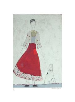 Lady with Red Skirt (195 Editions)