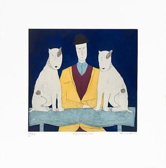 Lady with Two Dogs (150 Editions)