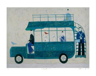 Green Bus (295 Editions)