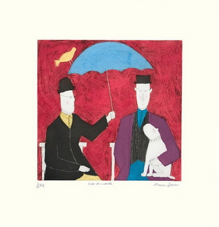 Under the Umbrella,red (150 Editions)