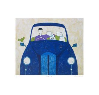 Blue Car (175 Editions)