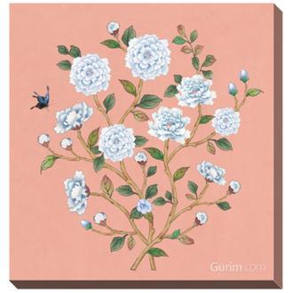 꽃가지 봄_분홍