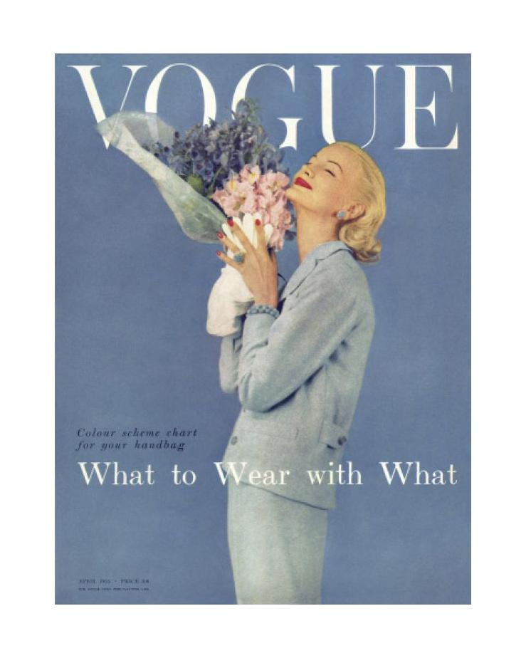 Vogue April 1955