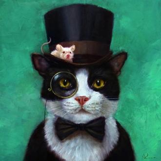 Tuxedo Cat (스타트업 협찬그림)