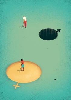 Gender Inequality (스타트업 협찬그림)