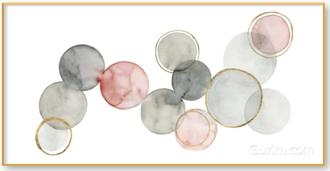 Gilded Spheres I(부부의세계 협찬그림)