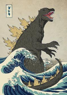 The Great Monster off Kanagawa