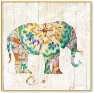 Boho Paisley Elephant I(부부의세계 협찬그림)