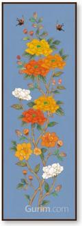 긴꽃가지 봄_파랑