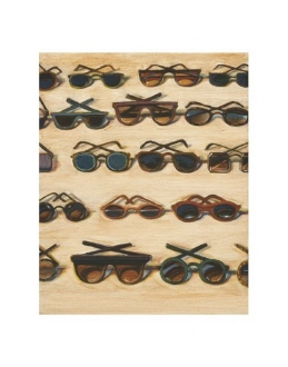 Five Rows Of Sunglasses 2000