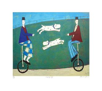 Jumping Dogs(175 Editions)